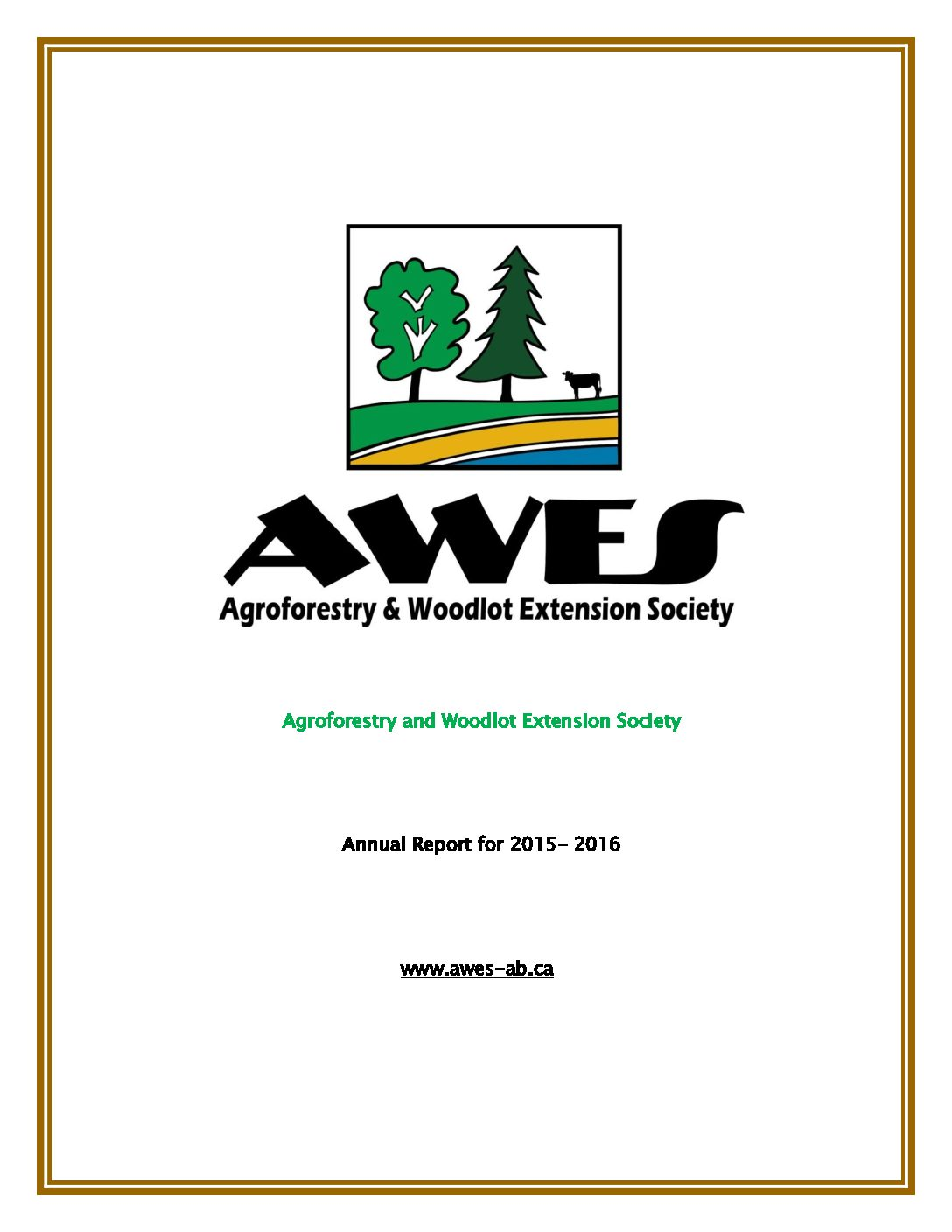 AWES Annual Report 2015-2016