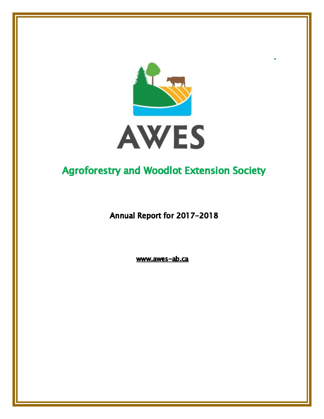 AWES Annual Report 2017-2018
