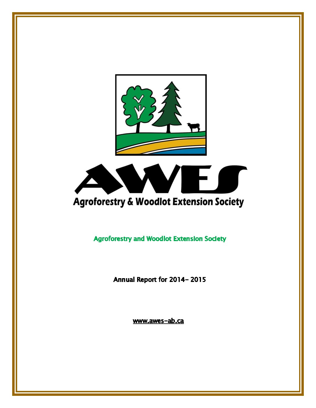 AWES Annual Report 2014-2015