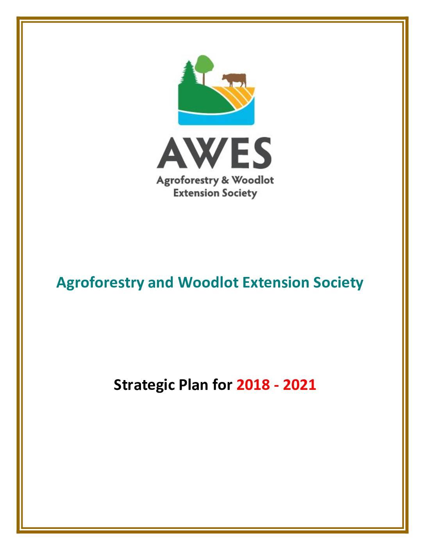 AWES Strategic Plan 2018-2021